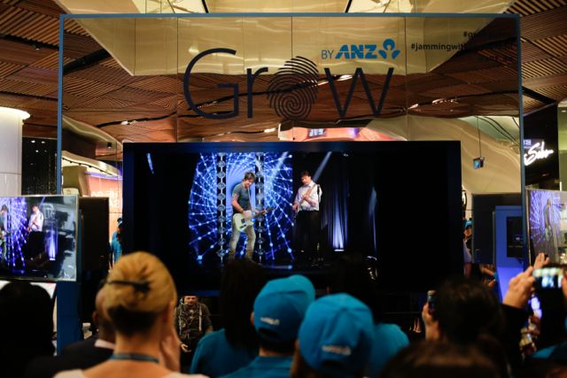 ANZ launches Australia's first interactive hologram event