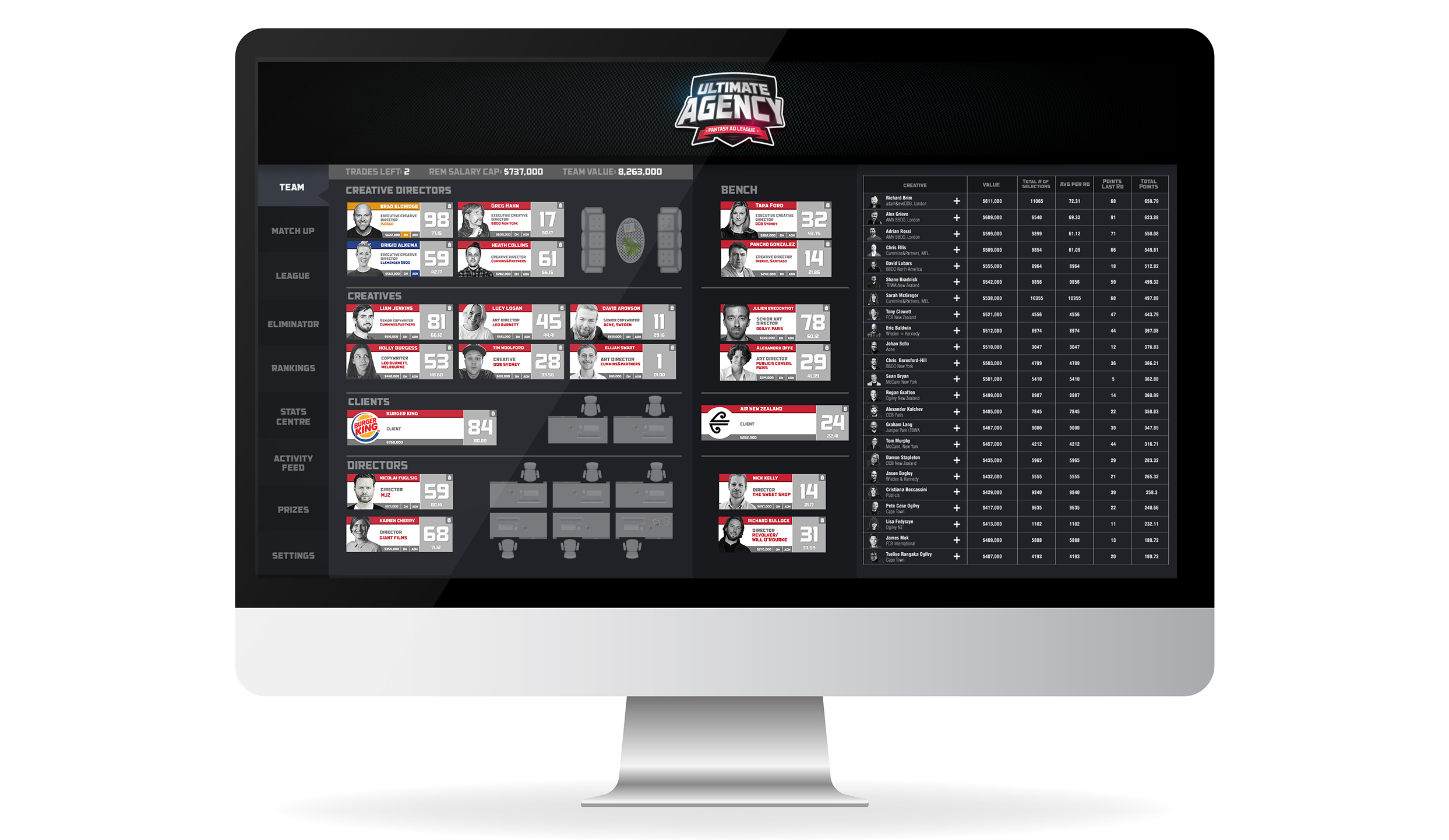 Bestads turns the advertising game into an actual game with launch of Ultimate Agency ~ UPDATE: CB thanks Cummins&Partners, MELBOURNE for this clever April Fool's story