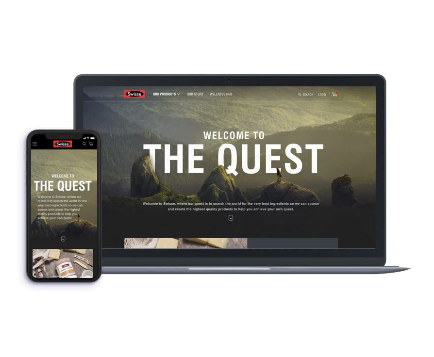 Inlight Melbourne showcases intelligent UX design with launch of new Swisse AU website