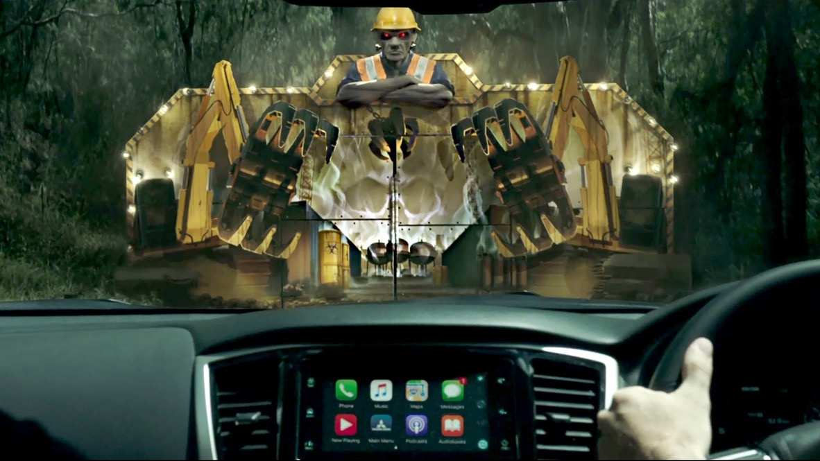 Mitsubishi Motors Australia launches 'Nothing Can Frighten a Triton' campaign via Richards Rose