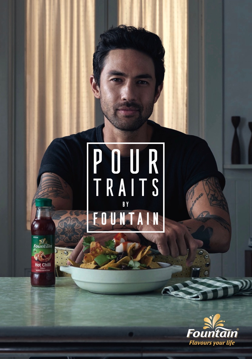 Fountain Sauce entices Aussies with its latest 'Pour Traits' campaign via Cummins&Partners