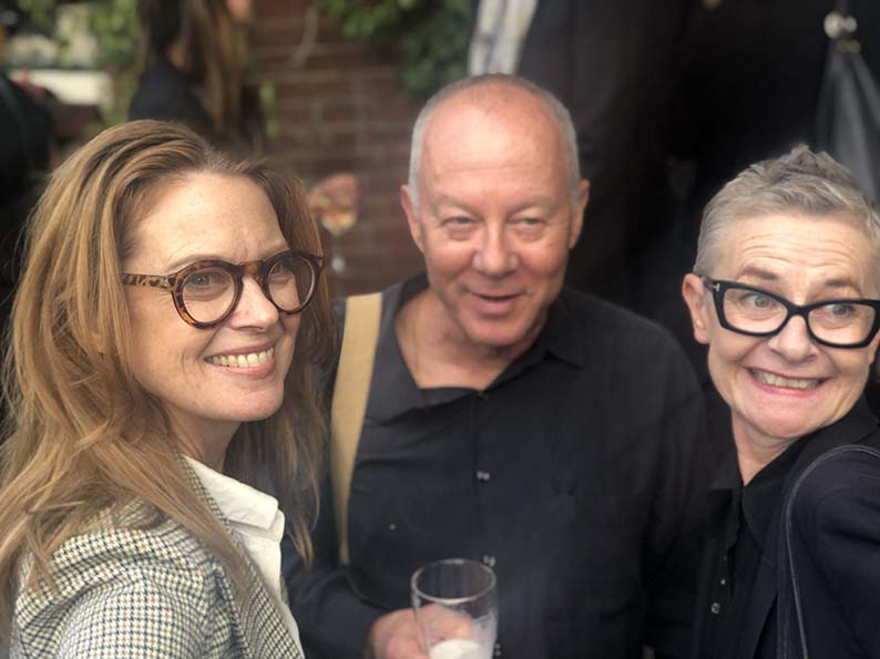 Hundreds of Grant Booker's friends + colleagues gather to celebrate the ad legend's charmed life