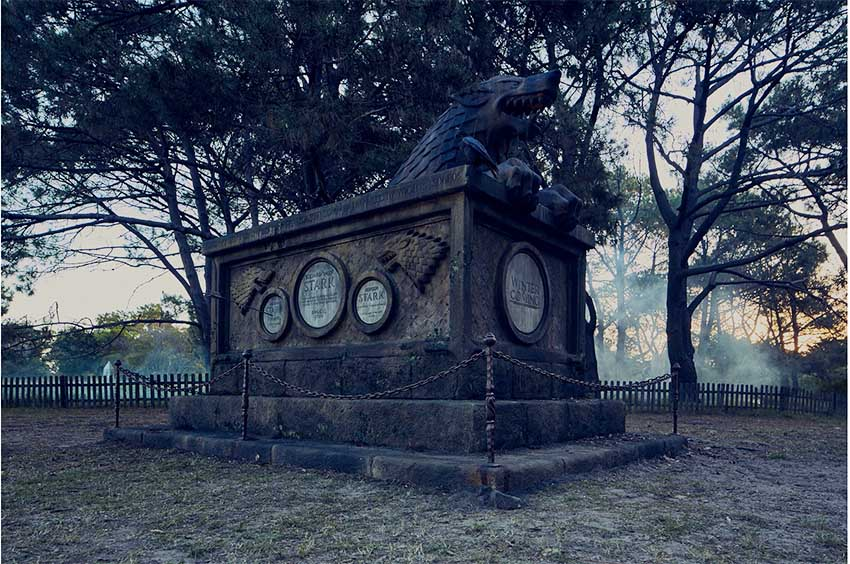 Foxtel builds epic graveyard to mourn Game of Thrones deaths in latest experiential campaign via DDBSydney