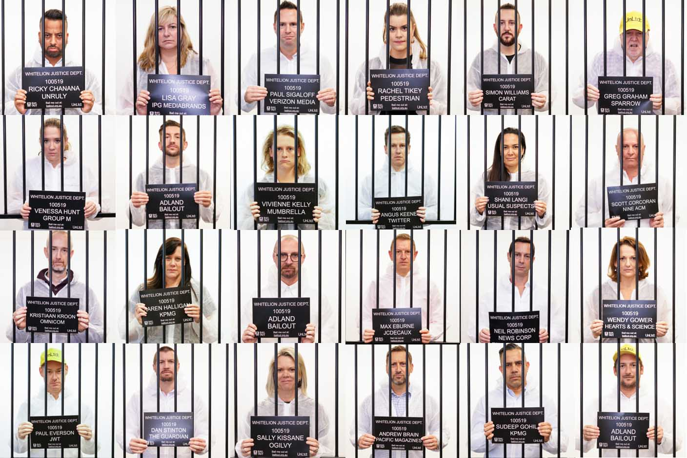 Adland behind bars: 150 industry leaders to be locked up in prison to help young people at risk
