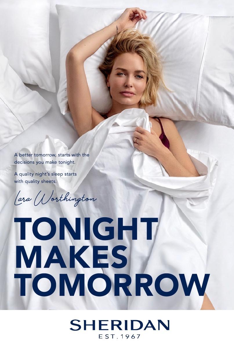 Sheridan launches latest instalment of 'Tonight Makes Tomorrow' campaign via TBWA\Sydney