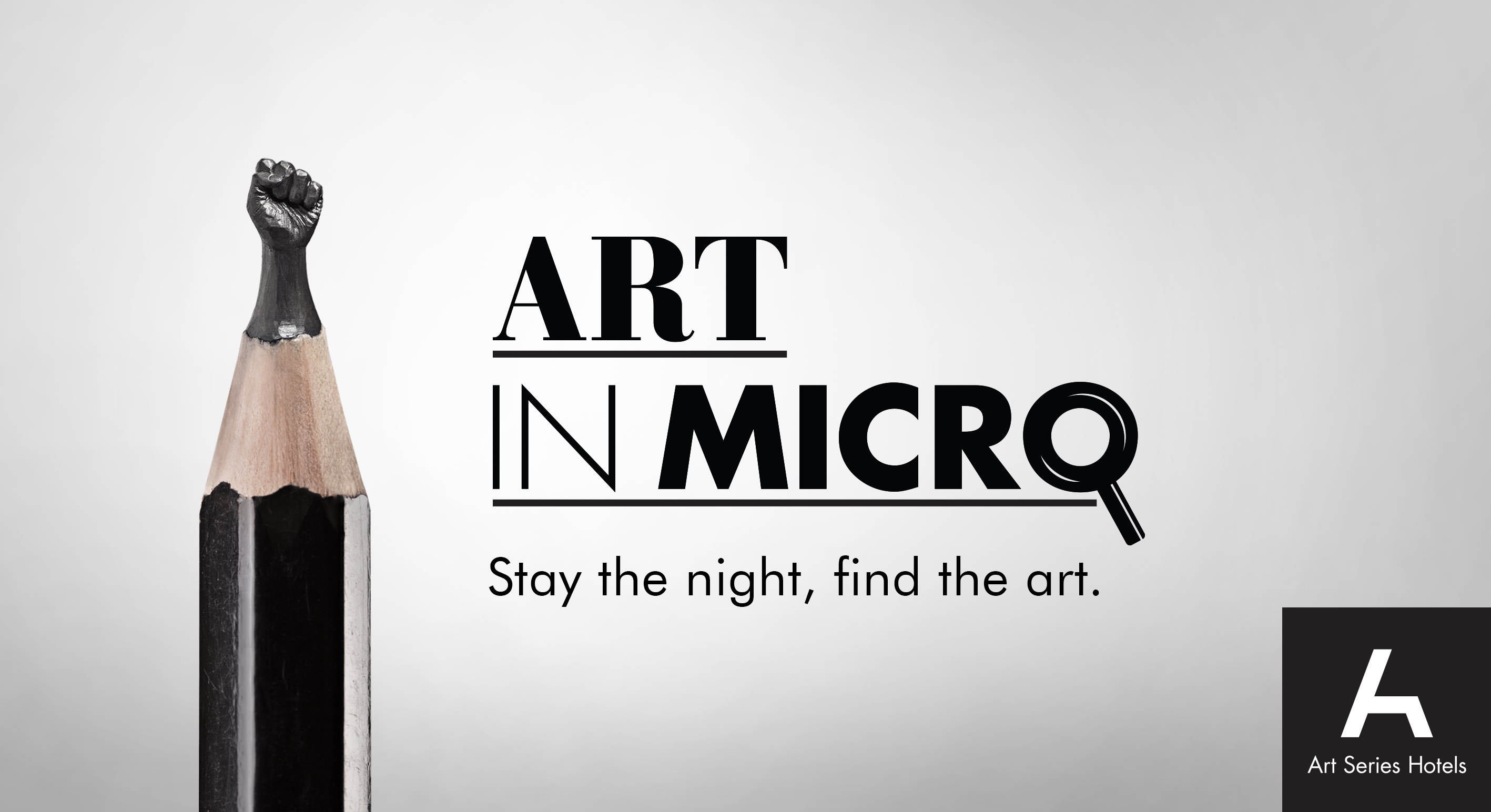 Art Series Hotels Launches 'Art in Micro' exhibition of micro art via Thinkerbell