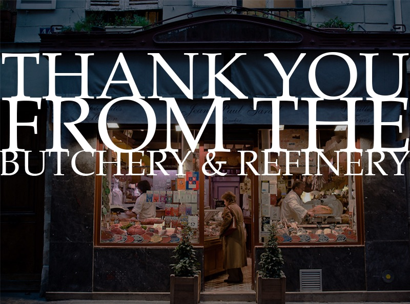 After 12 years in business The Butchery and Refinery in Melbourne and Sydney announces closure