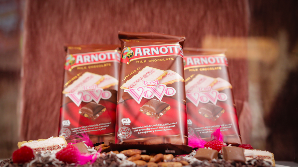 Arnott's breaks into chocolate category with integrated campaign via The Neighbourhood
