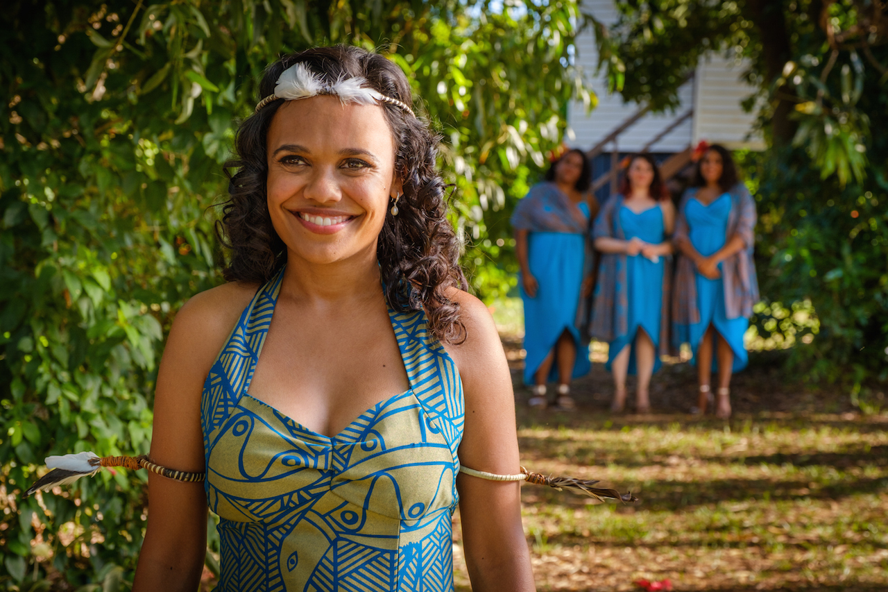 Category first marketing campaign implemented by Tourism NT for 'Top End Wedding' feature film