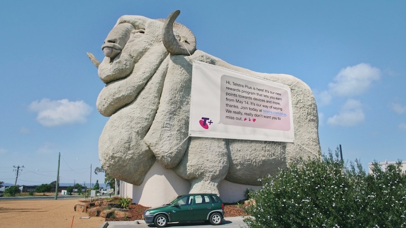 Telstra sends Aussies the most important text msg in Telstra Plus campaign via The Monkeys