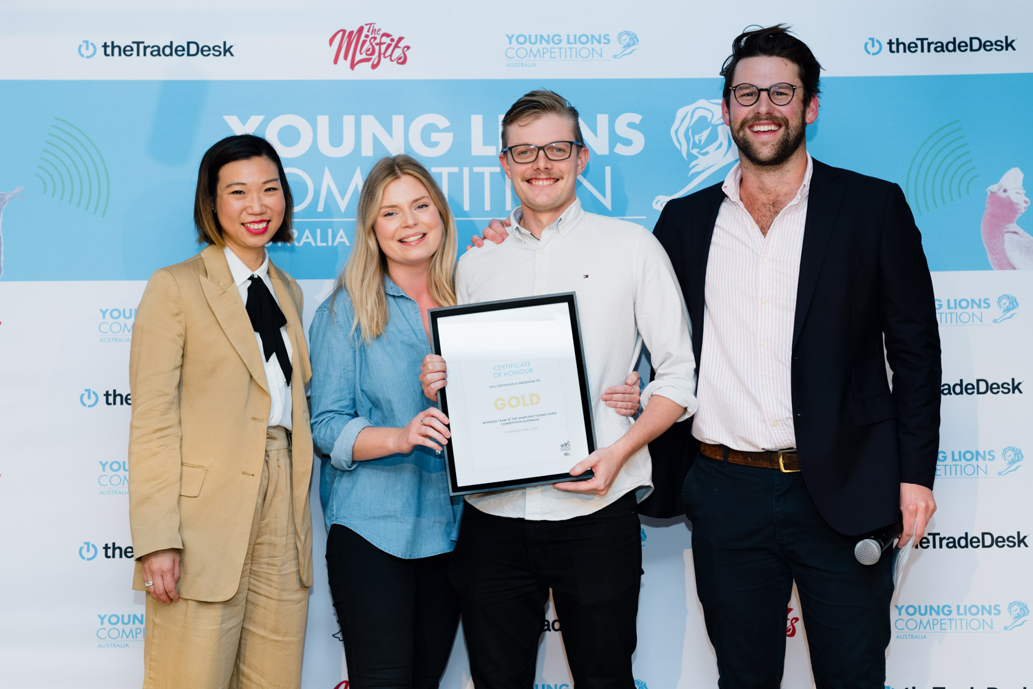 Cannes Lions announces the winners of the 2019 Snapchat Young Lions Australia Competition