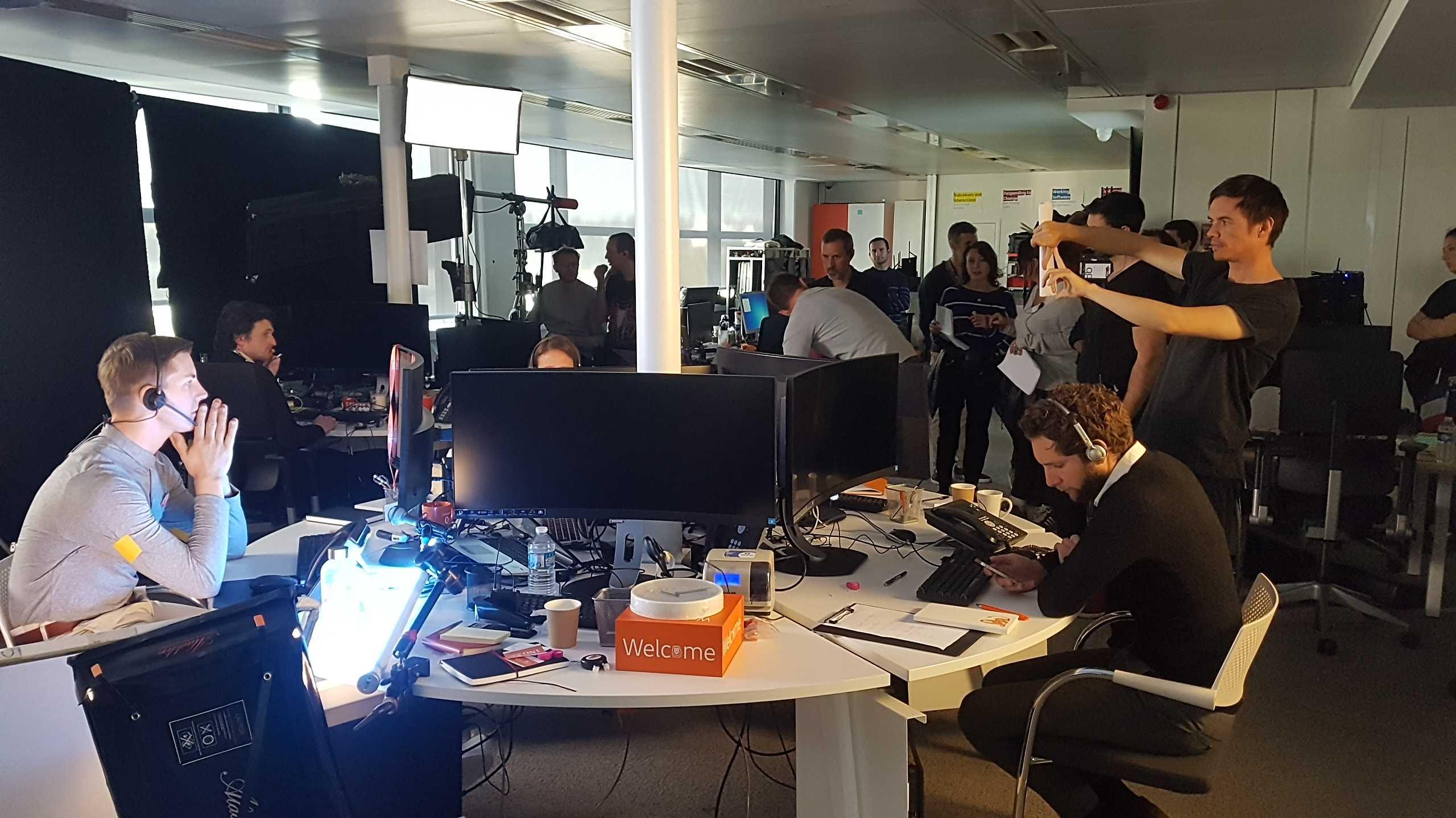 //Thirteen & Co director Armand De Saint-Salvy shoots latest ING France TVC for Rosapark, Paris