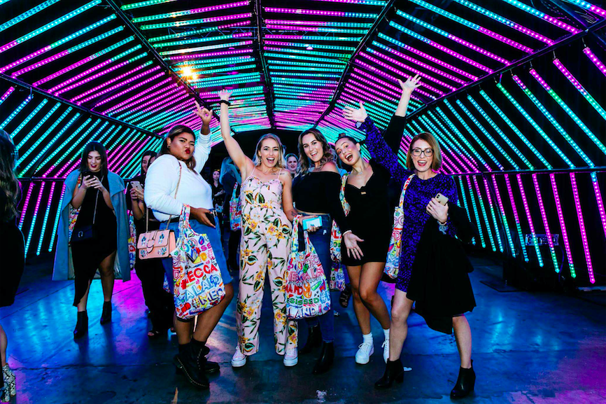 Australia's largest beauty festival Meccaland launches today in Sydney via Taboo, Melbourne