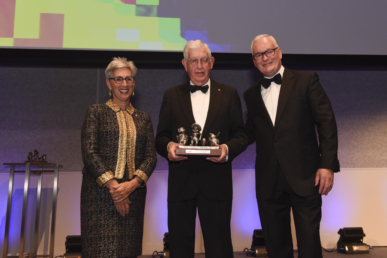 Advertising legend Peter Clemenger AO wins prestigious 2019 Melbourne Achiever Award