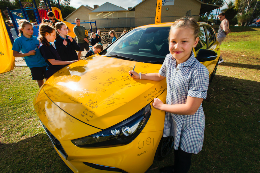 Hyundai gets fans to write messages of support for The Matilda's in new activation via Octagon