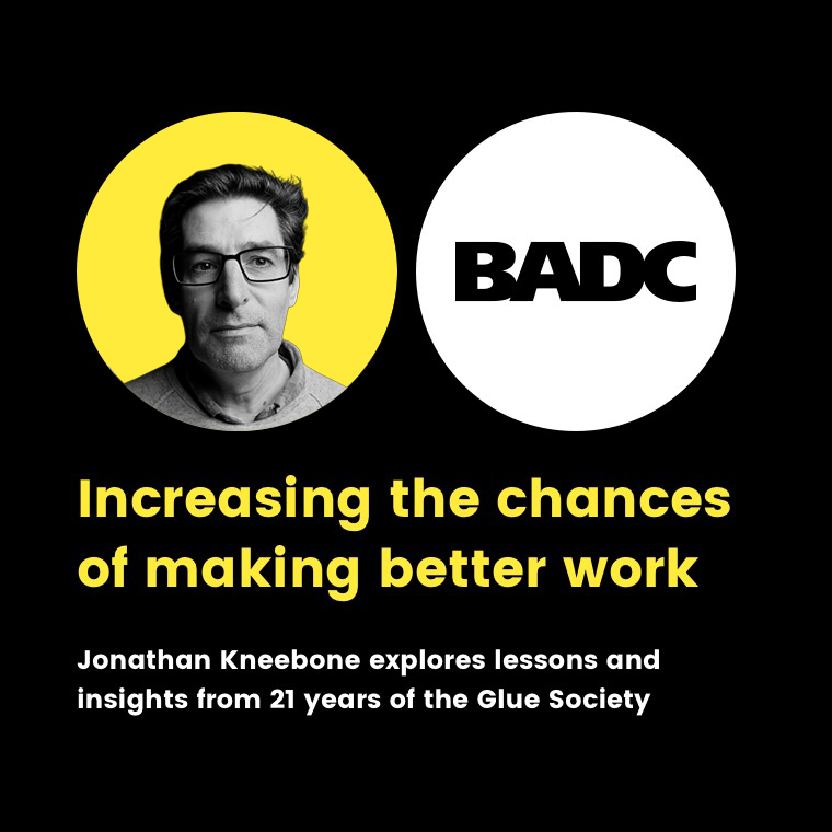 Tickets selling fast to BADC Lunch & Learn with guest speaker Jonathan Kneebone next Fri, Jun 7