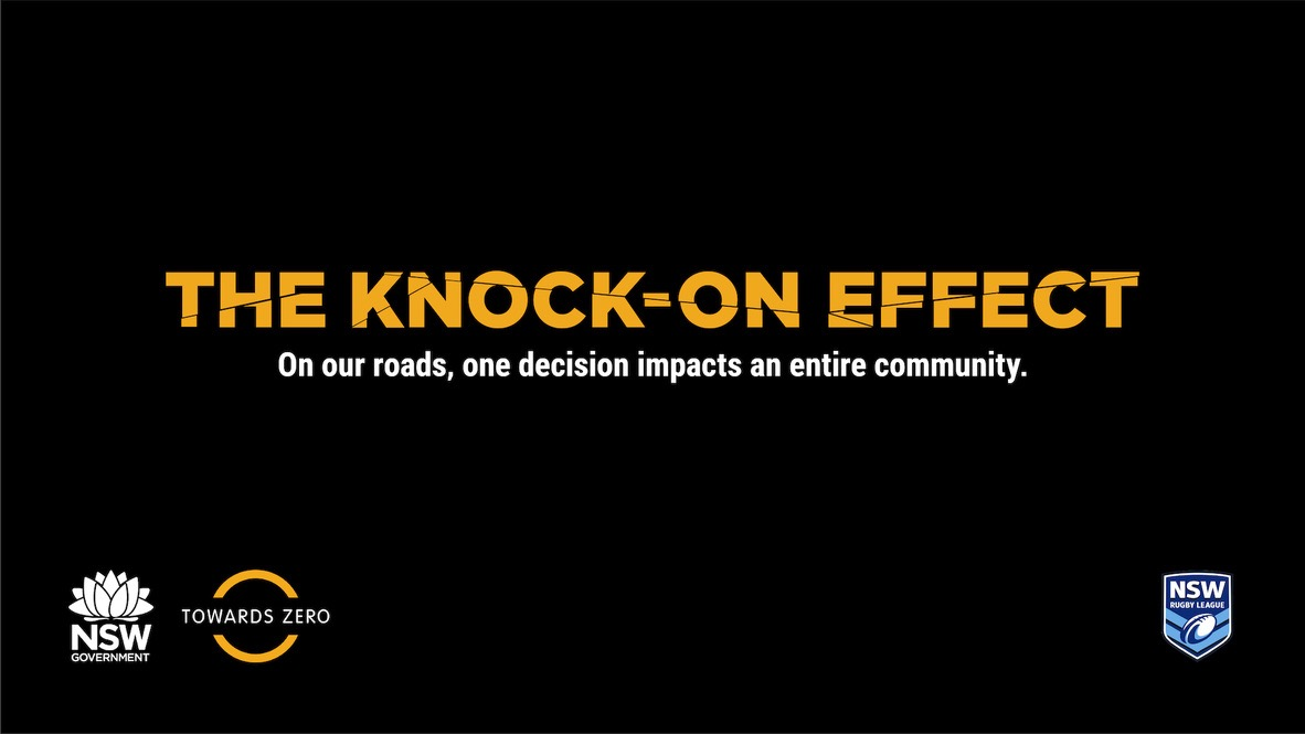 Transport for NSW Teams Up With Rugby League Legends to Launch 'Knock-on Effect' via Gemba