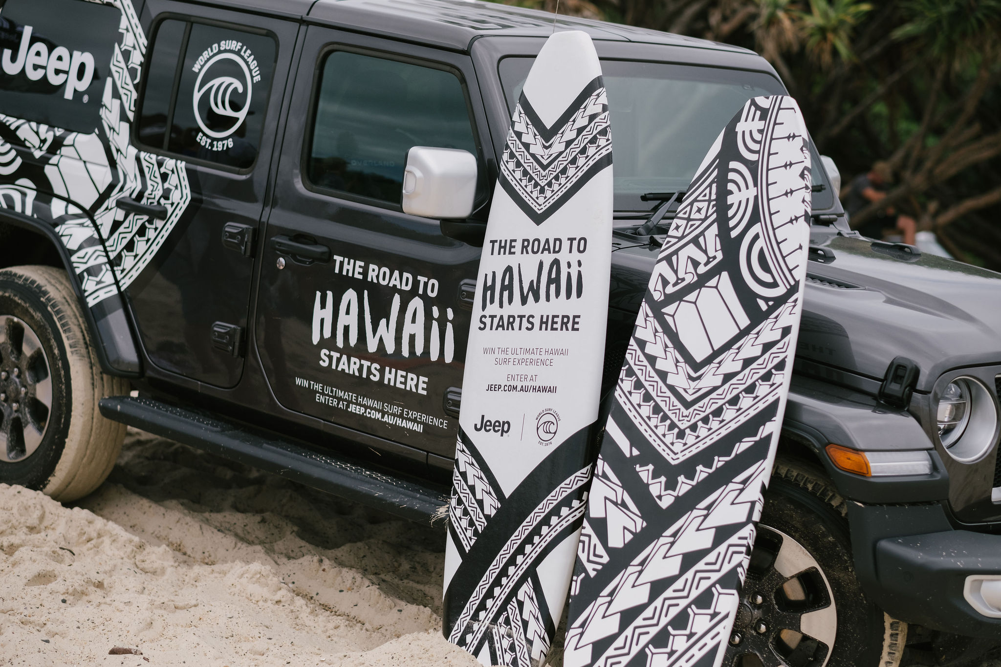 Jeep drives Australia to the waves in new World Surf League integrated campaign via Dig&Fish