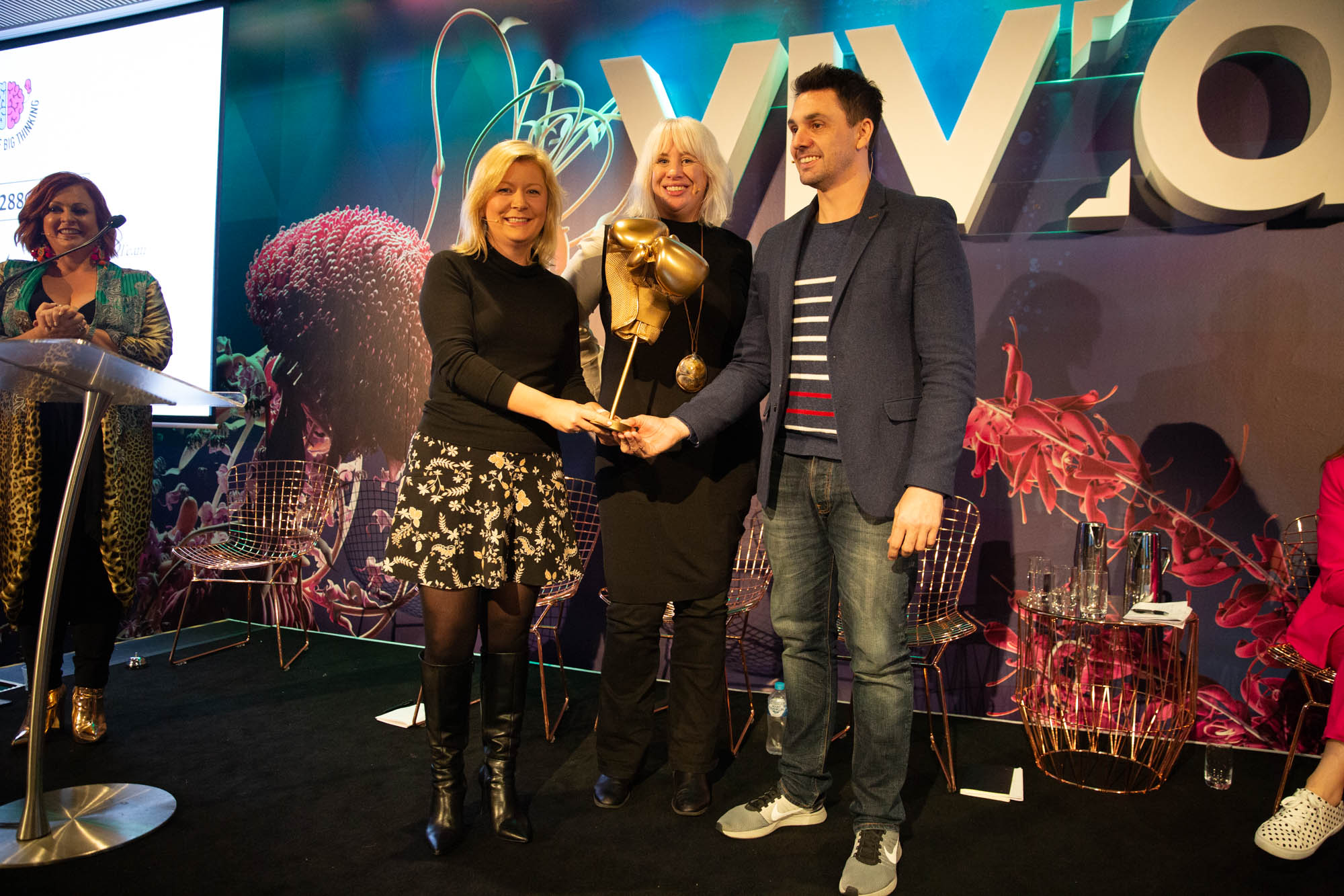 Victors crowned at APG's Battle of Big Thinking 2019 last night under the lights of Vivid Sydney