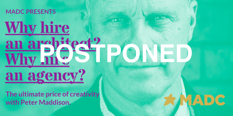 MADC Peter Maddison talk postponed to July 23
