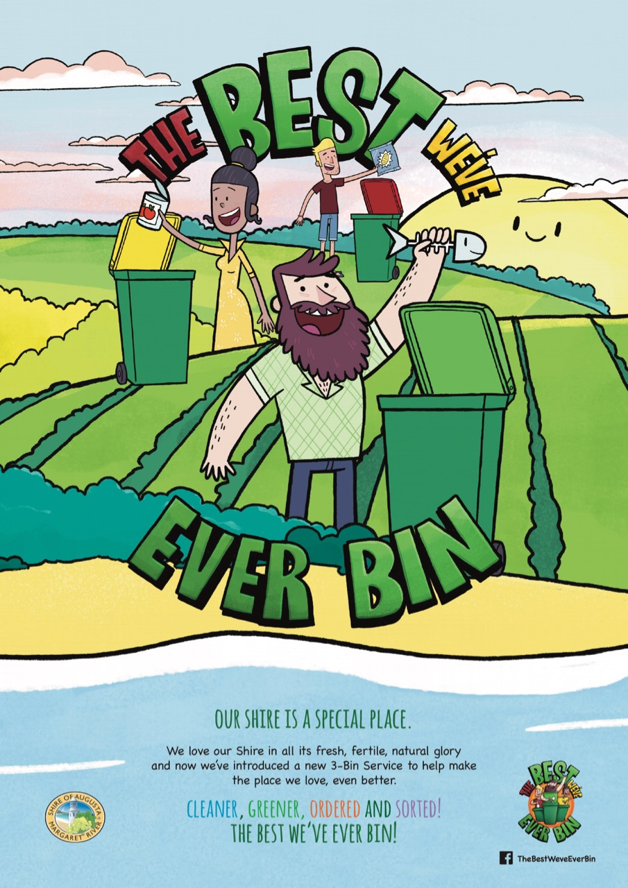 Icon Agency helps the Shire of Augusta and Margaret River to be 'The Best We've Ever Bin'