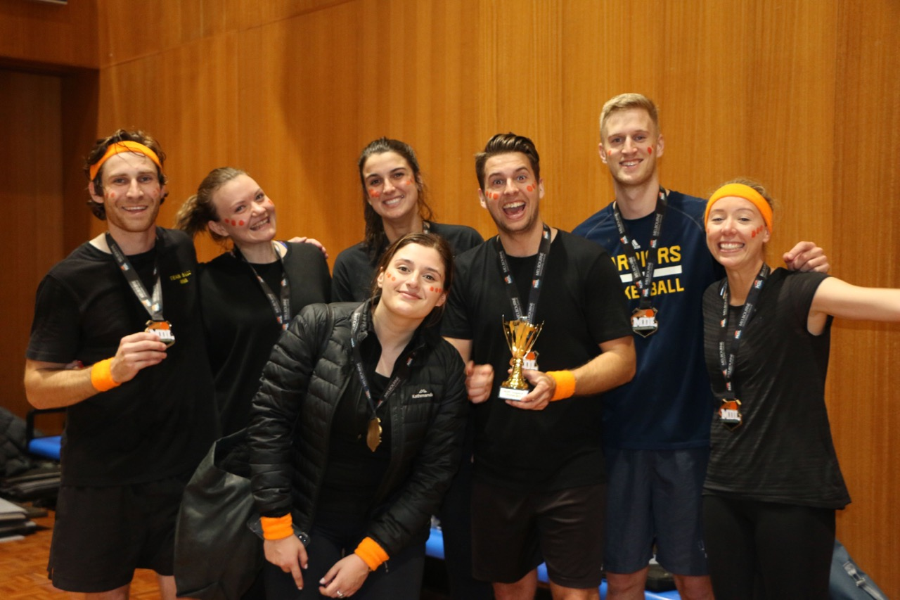 NGEN proves Dodgeball prowess to raise $20k for BackTrack + Positive Humans Movement charities
