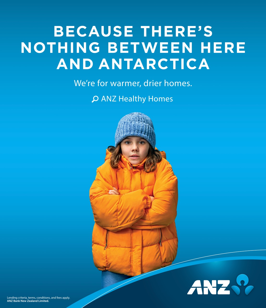 Cold climate deniers are the focus of ANZ New Zealand's latest campaign via TBWA Group NZ