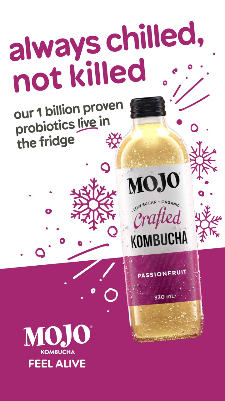 MOJO tackles consumer misconceptions about kombucha in its latest campaign via Fuller