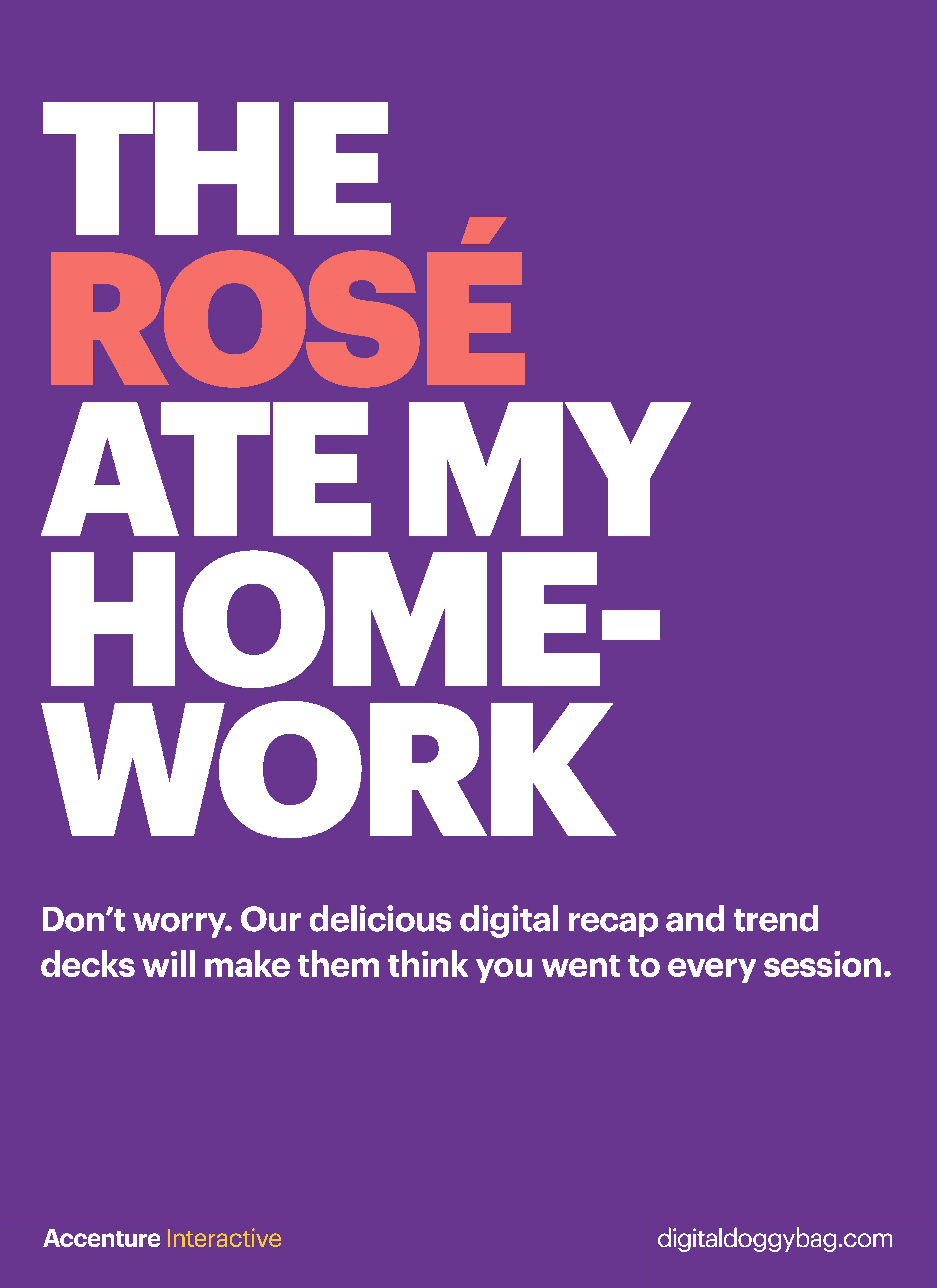 Accenture Interactive partners with Cannes Lions to provide all delegates with a free Digital Doggy Bag to enhance the Festival experience