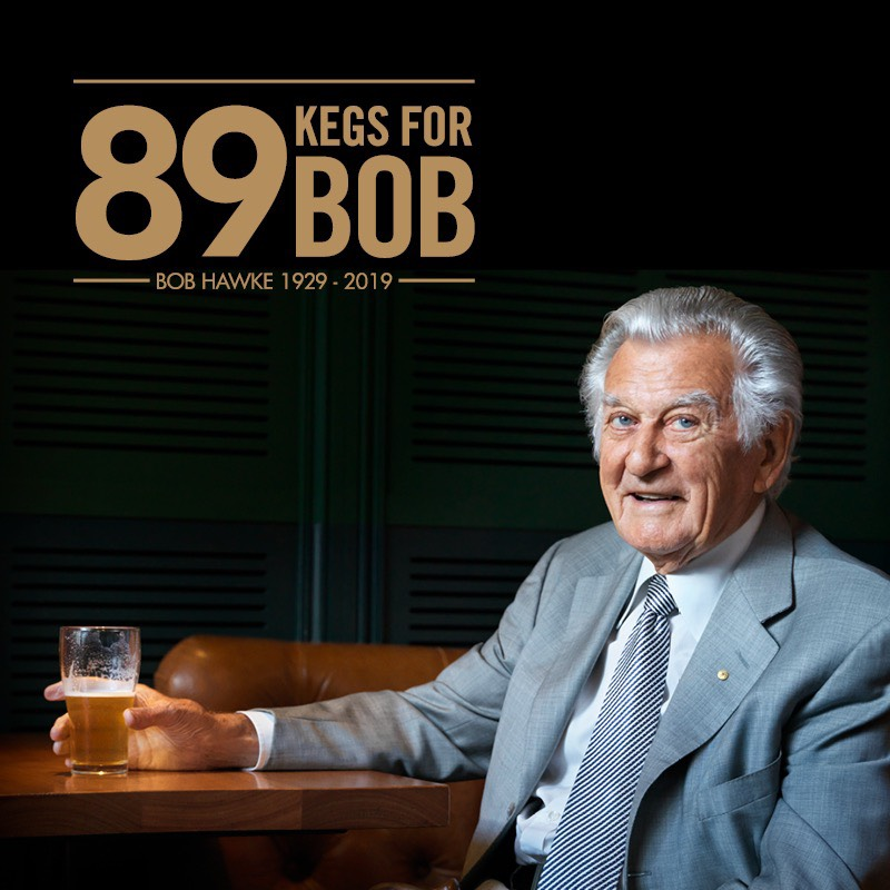 Hawke's Brewing Co. raises a glass for a legend while raising money for Landcare Australia