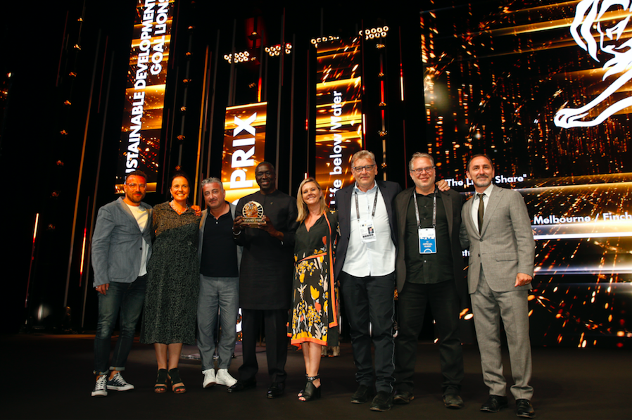 Clemenger BBDO Melbourne + FINCH win Cannes Sustainable Development Goals Lions Grand Prix for Mars Australia / UNDP 'The Lion's Share Fund'