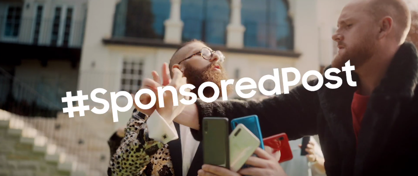 Samsung unveils #SubtlySponsoredPosts video via Leo Burnett Sydney to promote Galaxy A Series