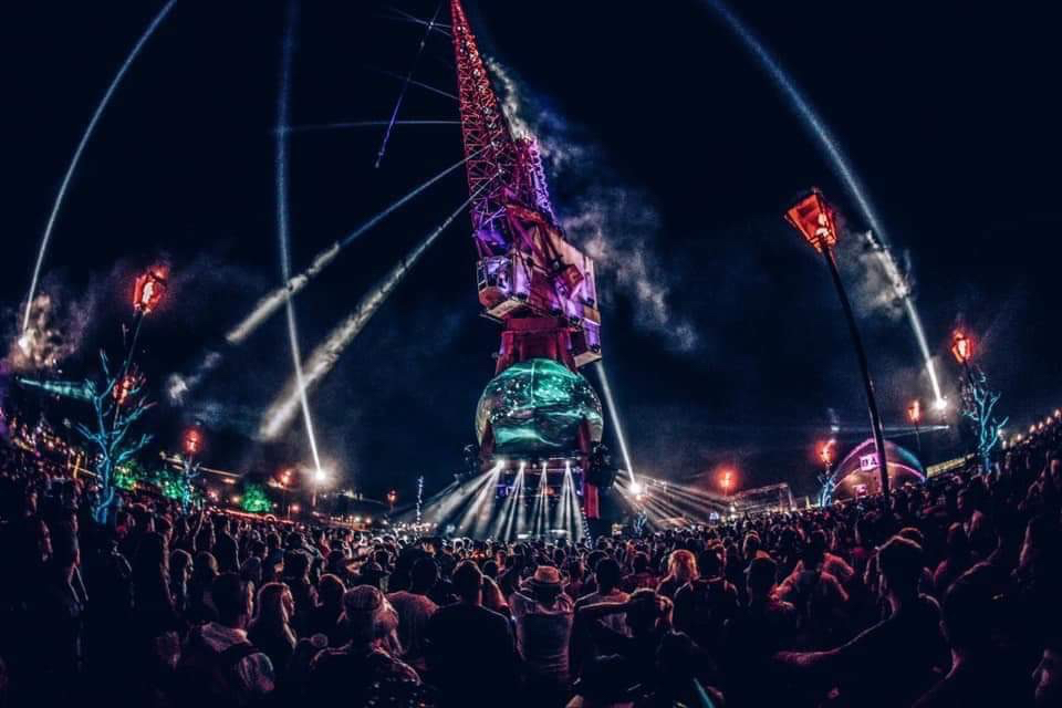 Heckler and Astral Projekt launch world first for Arcadia Spectacular Group at Glastonbury