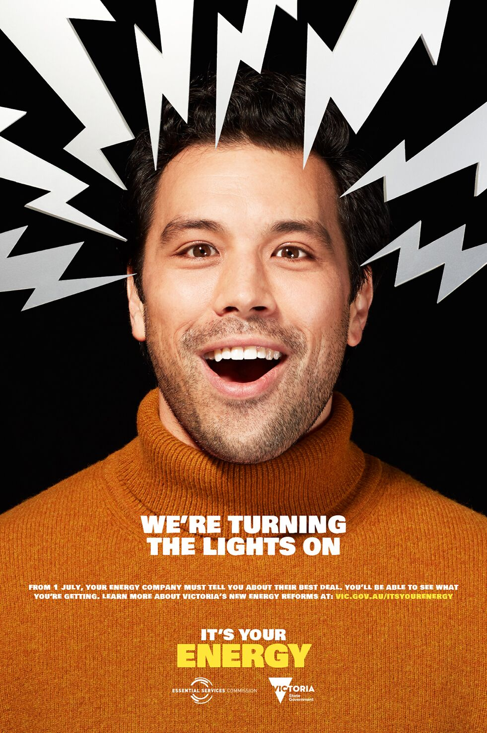 ESSENTIAL SERVICES COMMISSION GIVES PEOPLE BACK THEIR ENERGY IN NEW CAMPAIGN BY ICON AGENCY