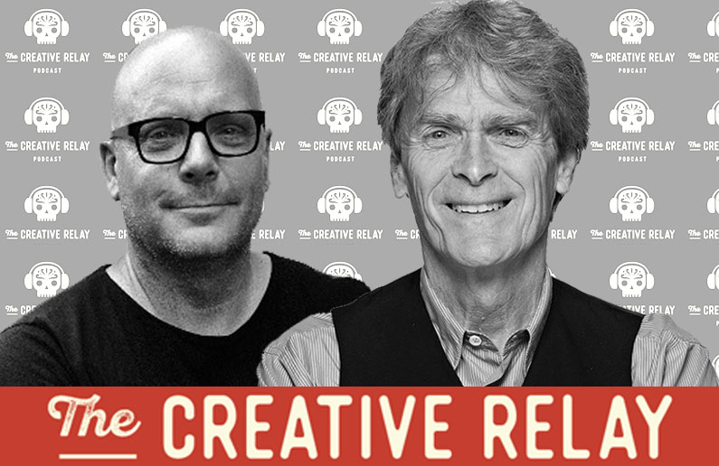 World Exclusive:Ad legend Sir John Hegarty lets loosein his podcast debut ~ Industry idiots + the comingcreative revolution on The Creative Relay