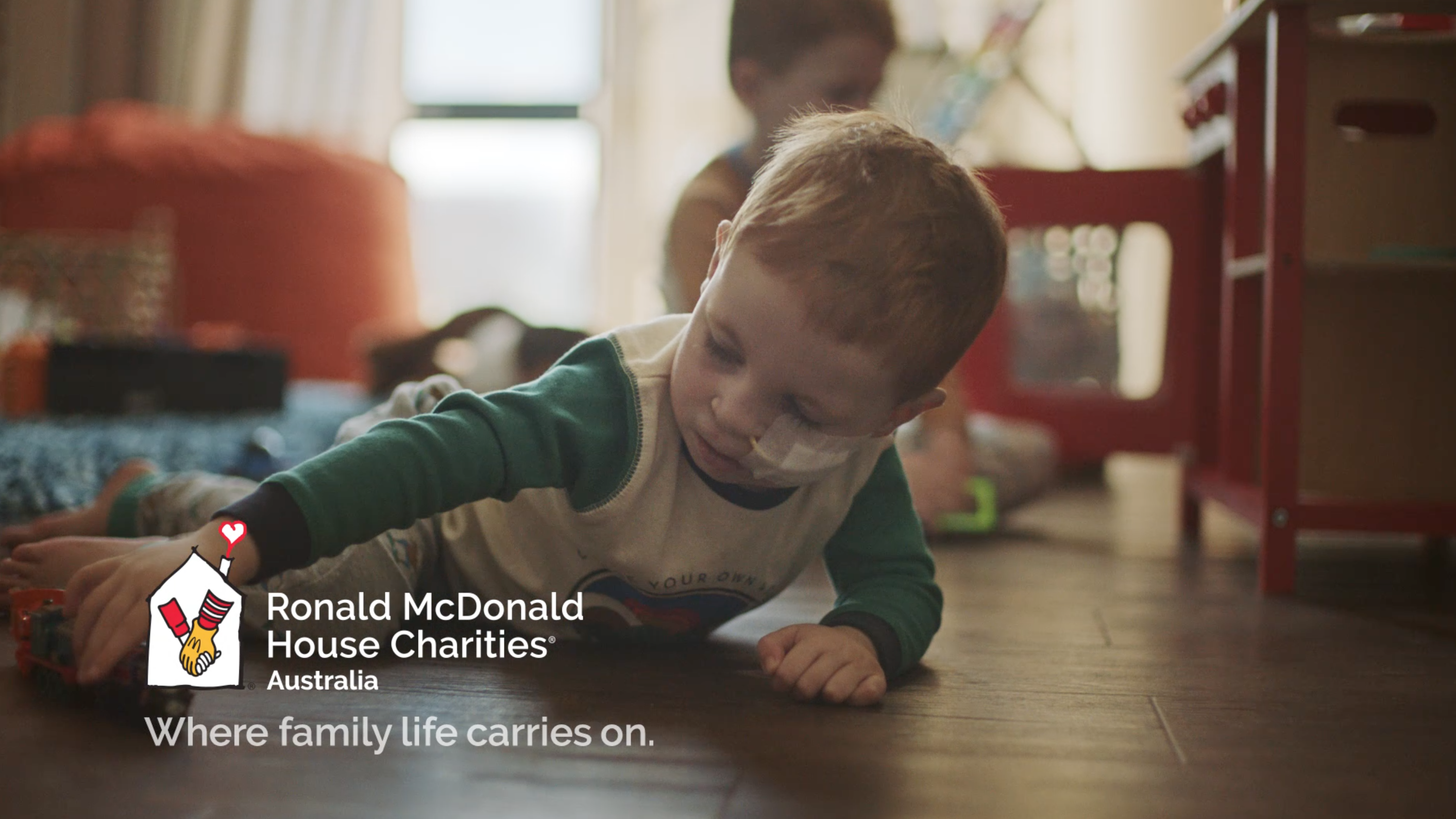 Ronald McDonald House Charities helps family life carry on for those with seriously ill children in latest campaign via DDB Sydney