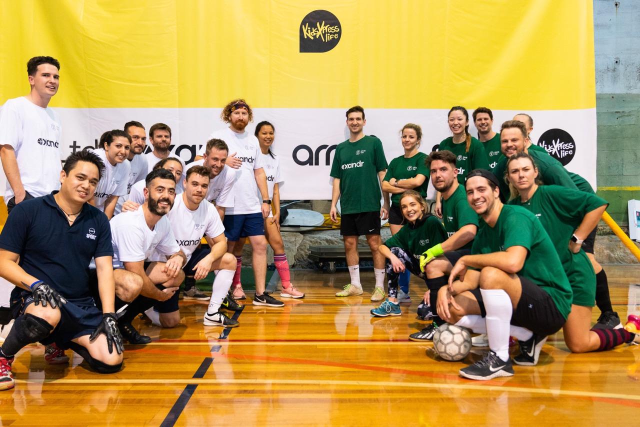 UnLtd Cup kicks goals for good; Indoor football tournament raises $55,000 for KidsXpress