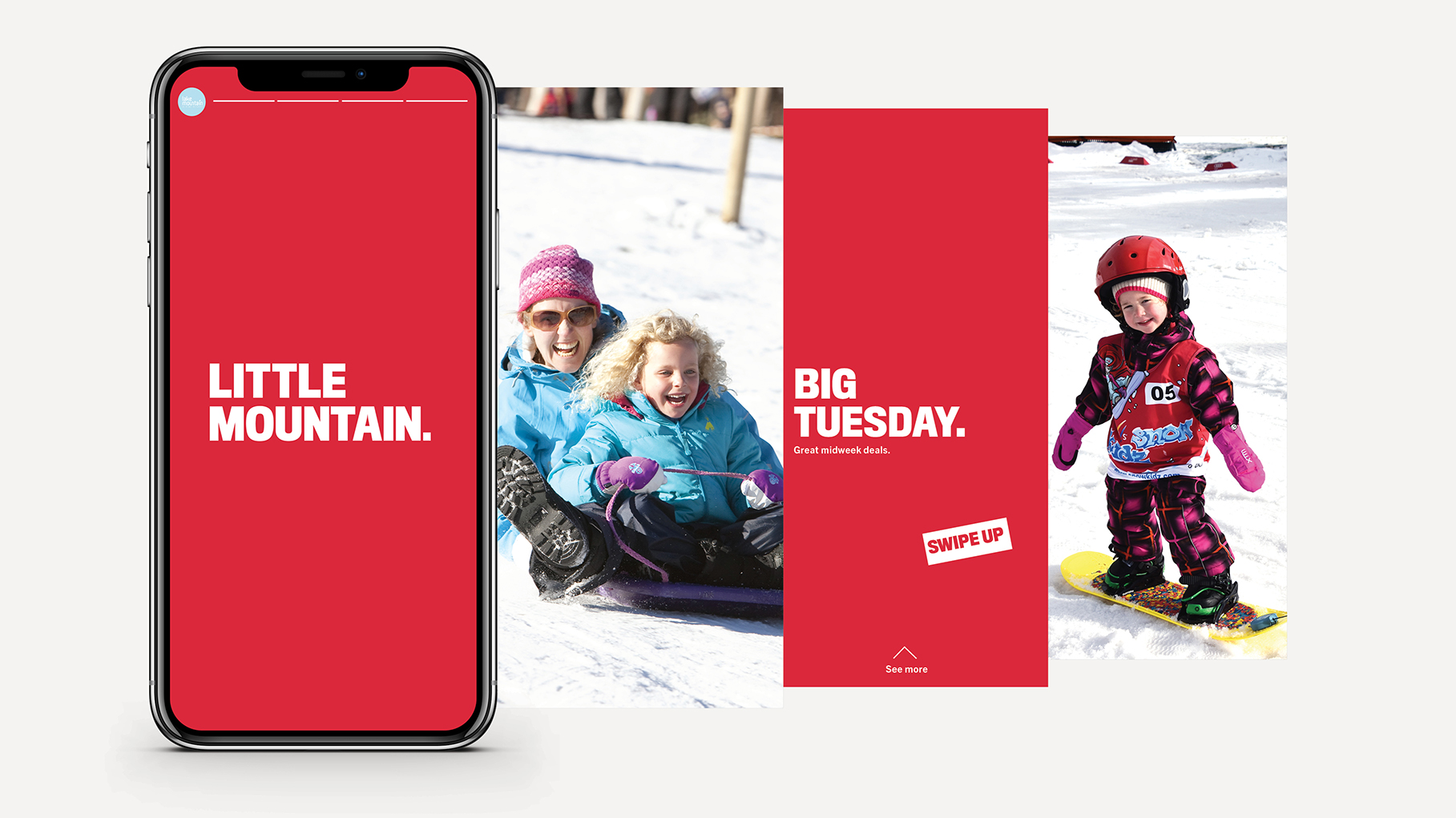 Lake Mountain Alpine Resort launches new 'Little Mountain, Big Day' brand work via The Reactor