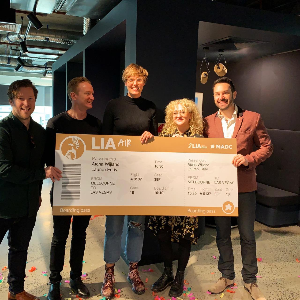 MADC/LIA Creative LIAisons winners announced: CHE Proximity's Aïcha Wijland and Lauren Eddy score the trip of a lifetime to Las Vegas, U.S.A.