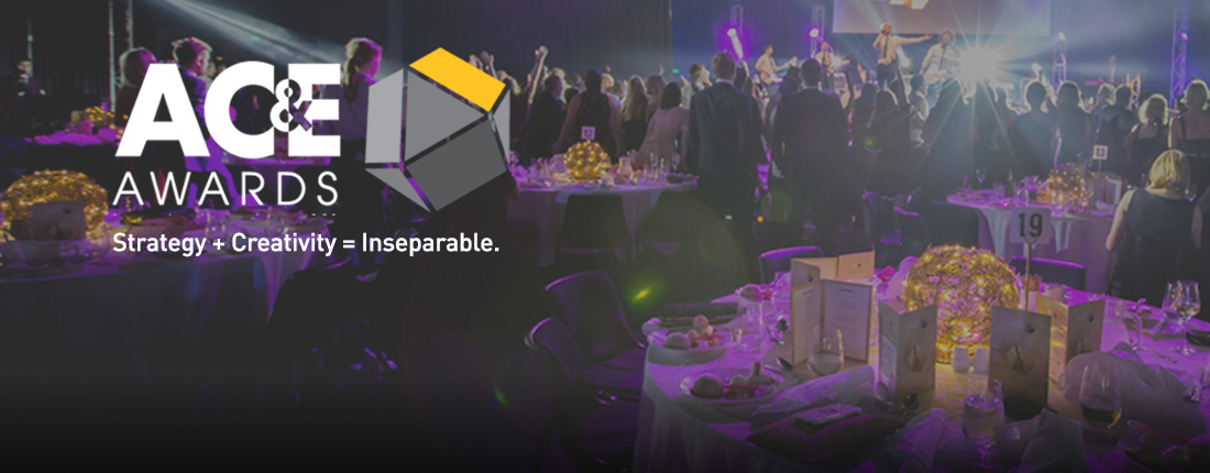After a brief hiatus The AC&E Awards are back – Use the code 'CAMPAIGNBRIEF' to get 5% off