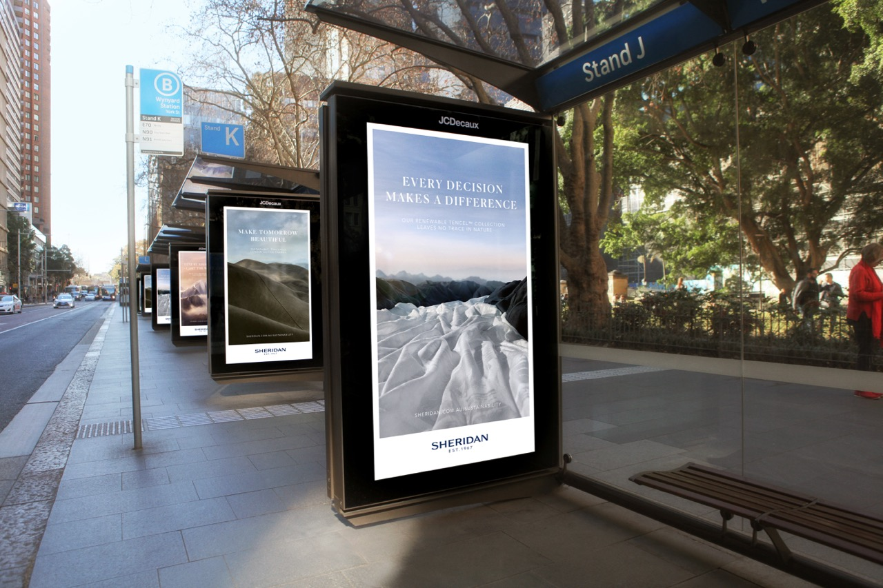 Sheridan gives life to its vision for a sustainable future in stunning campaign via TBWA\Sydney