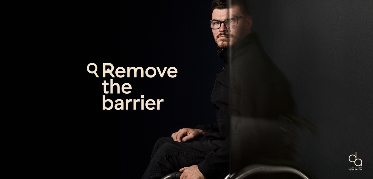 Dylan Alcott Foundation aims to remove invisible barriers and help disabled unemployment in emotive campaign via BWM Dentsu, Melbourne