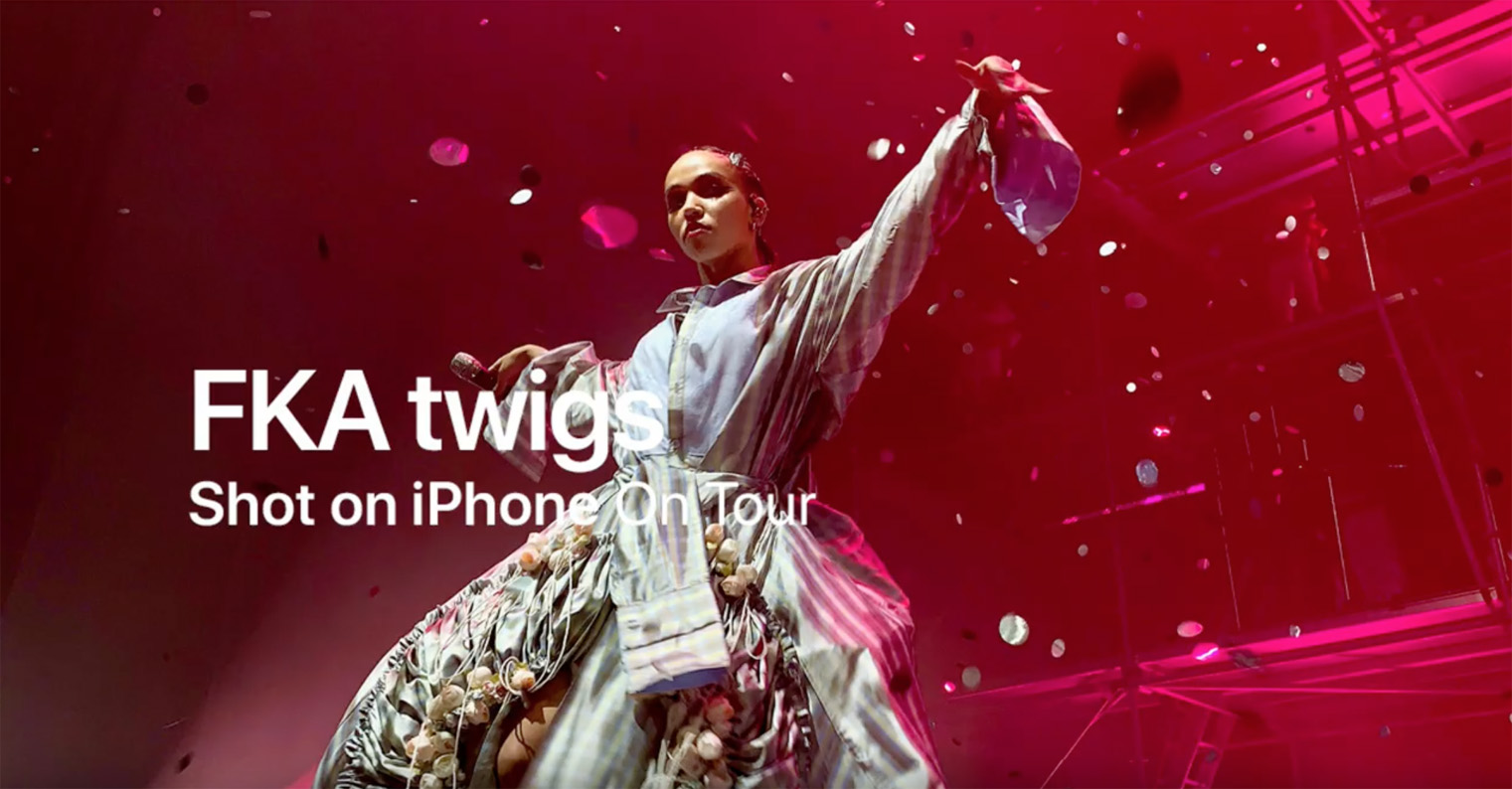 Apple heads on tour with latest 'Shot on iPhone' campaign featuring global music superstars
