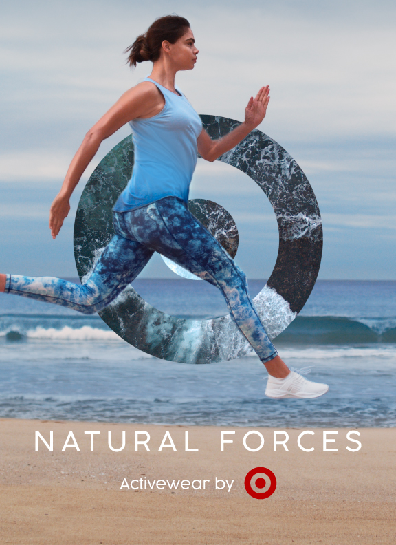 Target harnesses natural forces in new activewear campaign via AJF Partnership