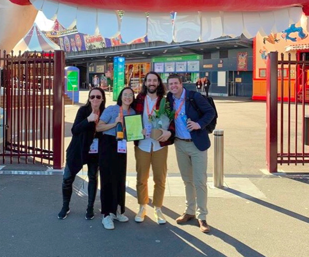 The Monkeys' Tessa Chong and Max Rapley's 'Goodstock' wins UnLtd Pitch for Purpose