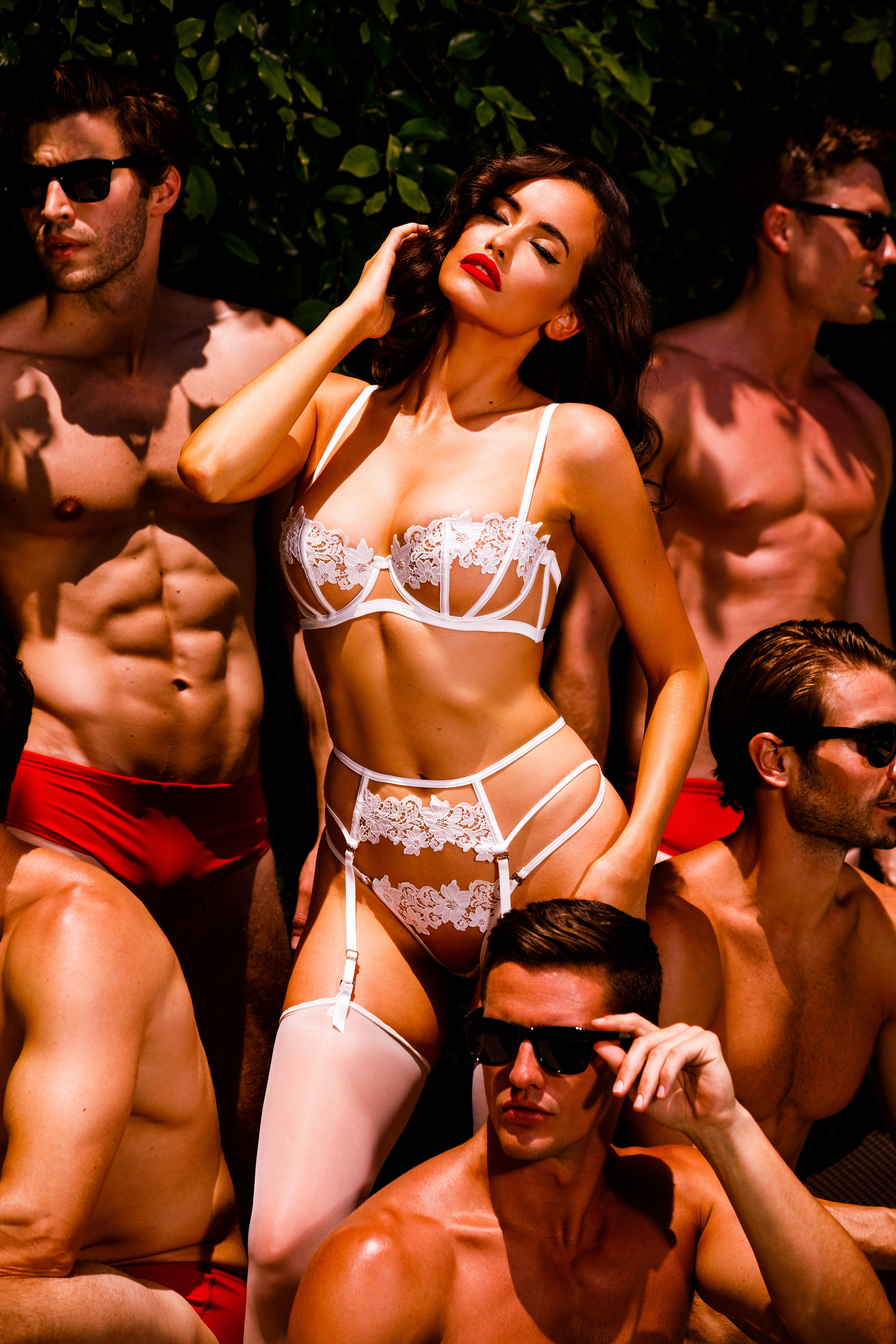 Aussie model Sarah Stephens fronts Honey Birdette's new 'Bodyguard' campaign