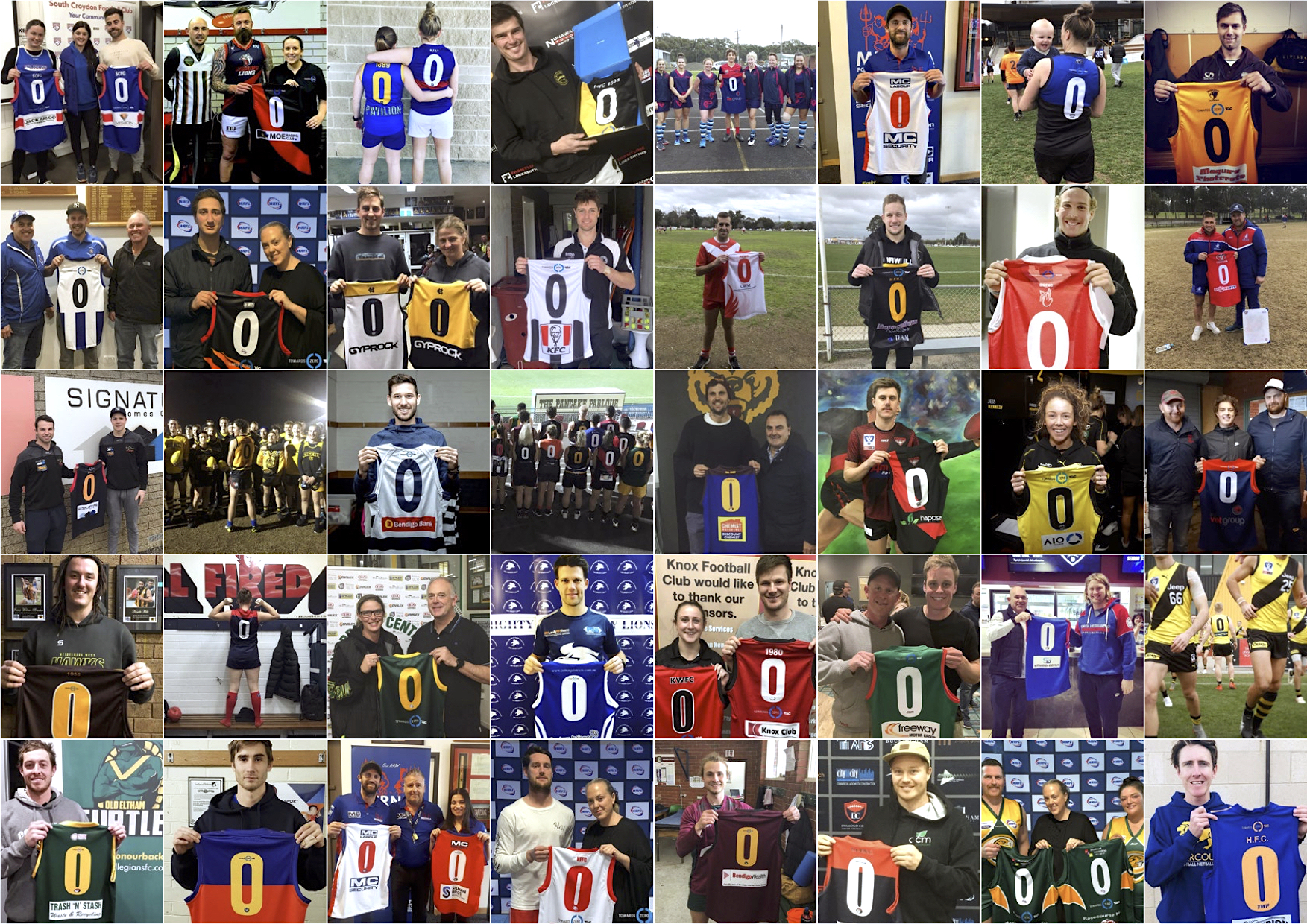 1000 VIC sporting clubs wear their support for TAC's Towards Zero Round + campaign via SDWM