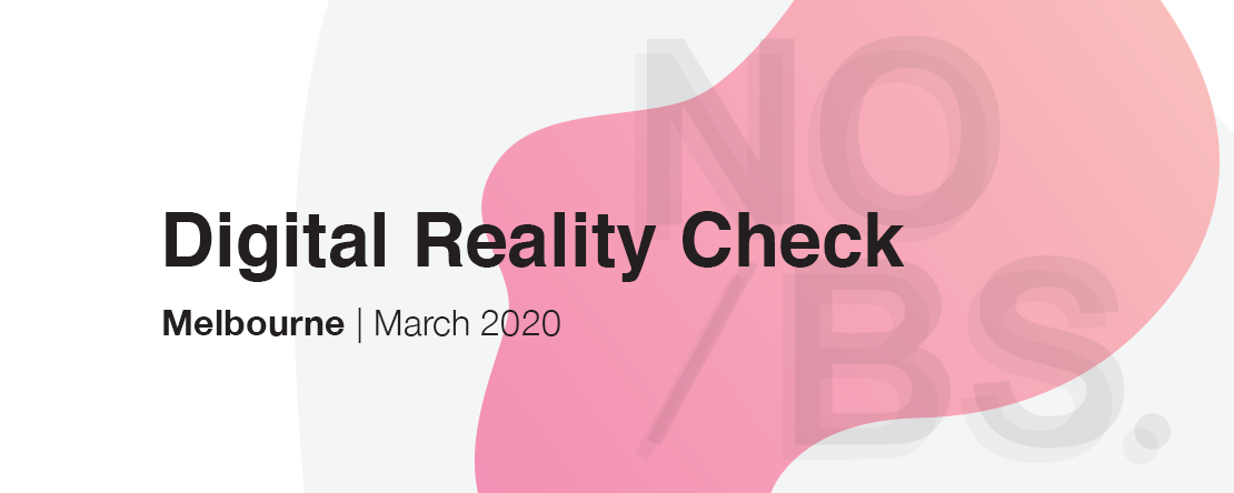 NO/BS Conference to deliver digital reality check; 11-13 March, 2020 at Melbourne's Forum Theatre