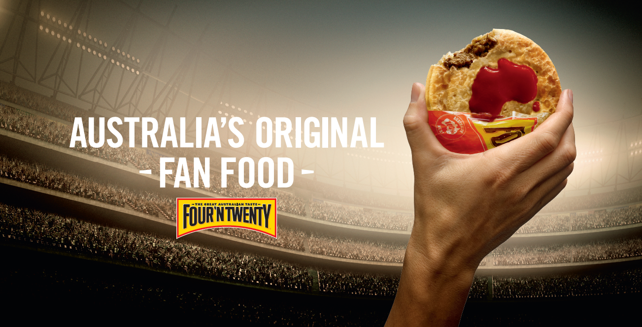 FOUR'N TWENTY CELEBRATES THE ORIGINAL FANS IN NEW CAMPAIGN VIA BWM DENTSU, MELBOURNE