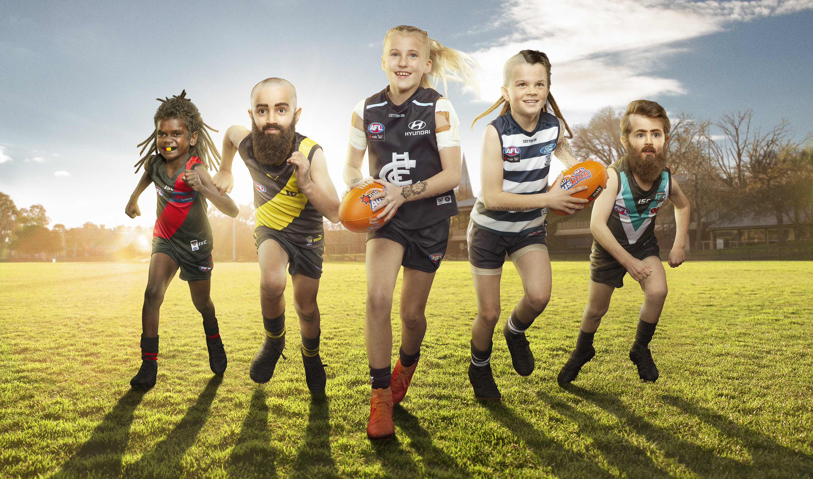 NAB launches 2019 line-up of AFL Mini Legends in latest campaign via Clemenger BBDO, Melbourne